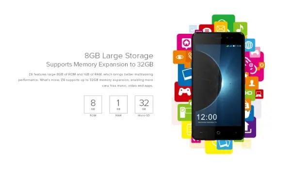 8GB large memory