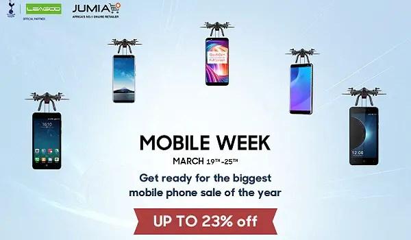 UP to 27% discount!LEAGOO and Jumia Mobile Week