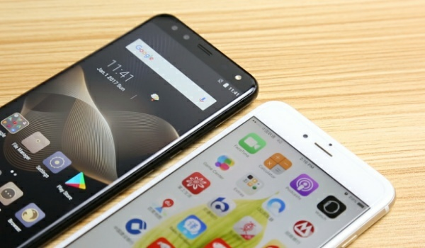 LEAGOO S8 vs iPhone 8