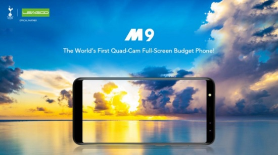 leagoo M9 first splash