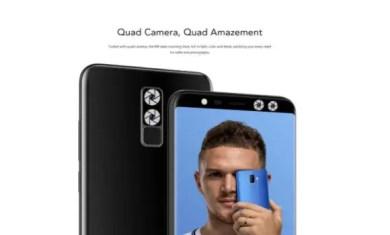 leagoo M9 quad camera