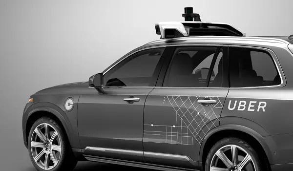 uber self-driving volvo-xc90