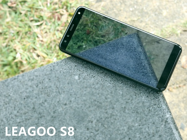 leagoo s8 on rock