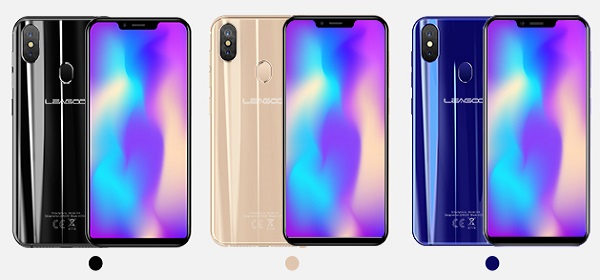 LEAGOO S9 notch-display in 3 colours
