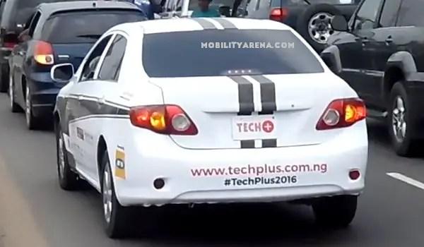 techplus2016 Self driving car in Lagos