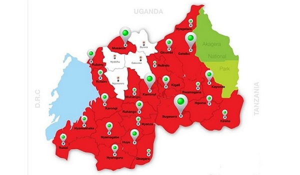 Rwanda nationwide 4G