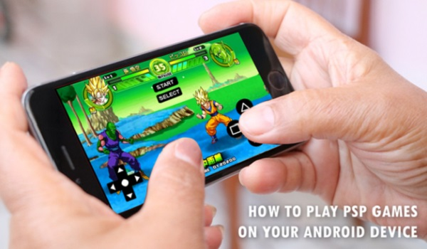 Play PSP Games on Android Phone - ppsspp games
