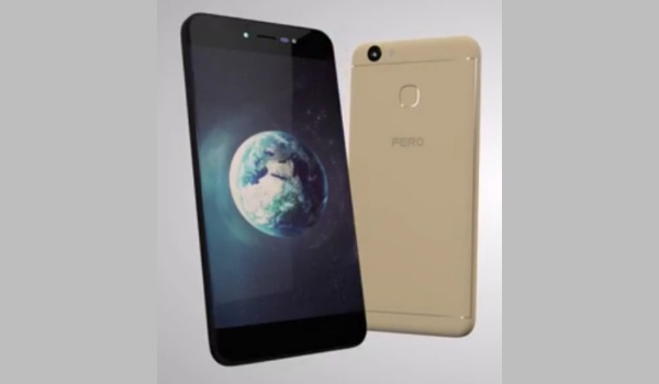 Fero phones with fingerprint and prices - Fero Pace 2