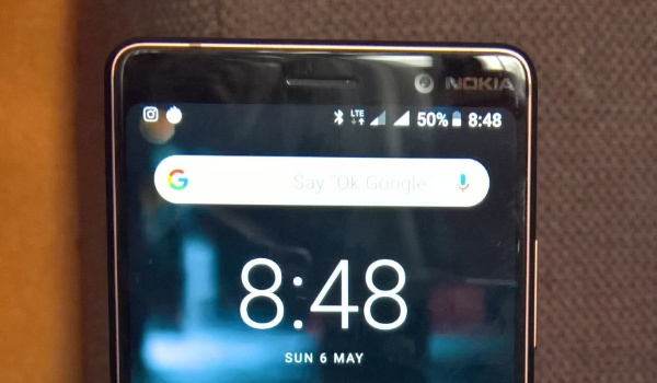 Nokia 7 Plus with two active 4G connections