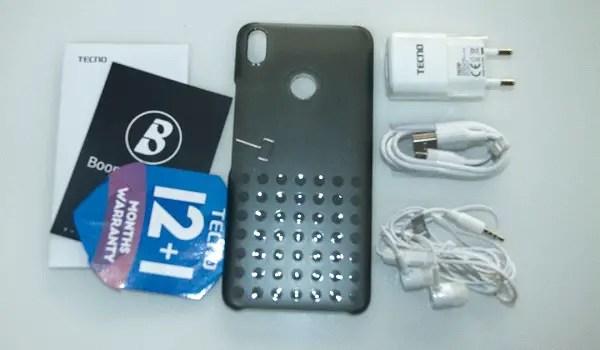 Tecno spark 2 unboxing accessories