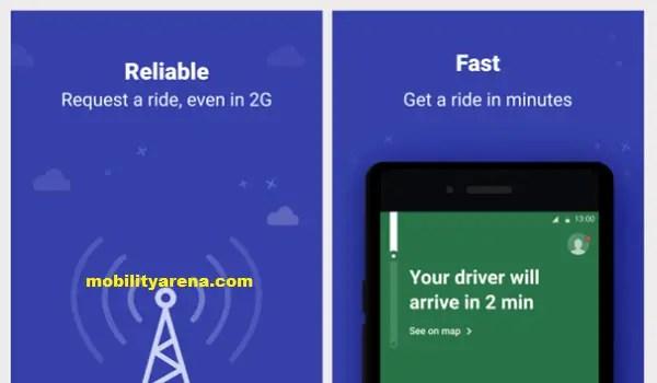 Uber lite app