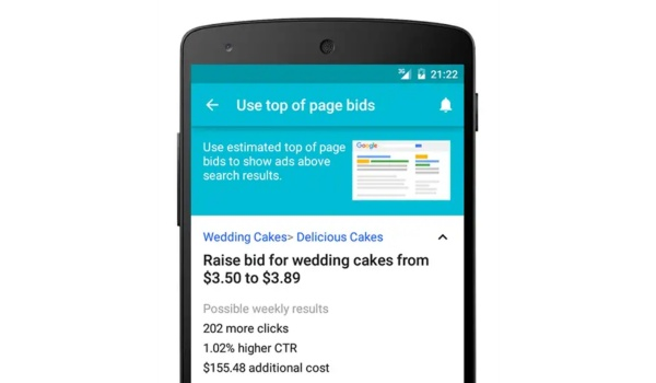 google adwords mobile adverts