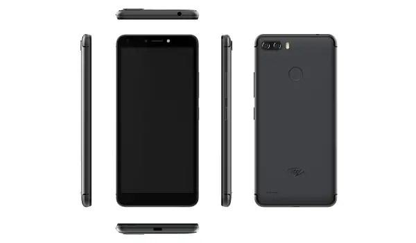 itel P32 black