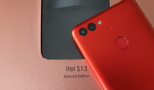 itel s13 photo dual camera fingerprint scanner