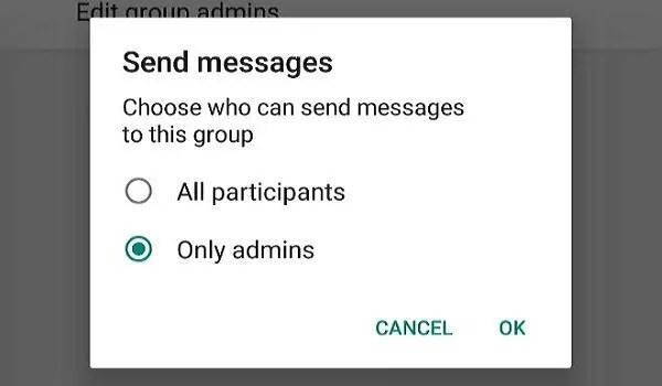 perfect whatsapp group