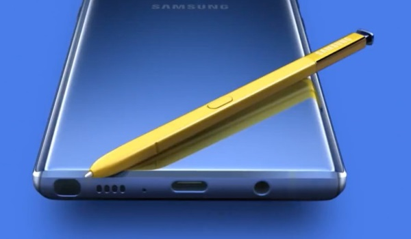 Bluetooth-enabled S Pen