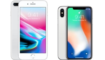 iPhone 8 Plus vs iPhone X