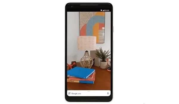 Google Lens in camera