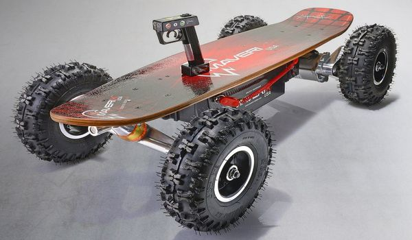 Maverick Border X Off-road Electric Skateboards - e-skateboards