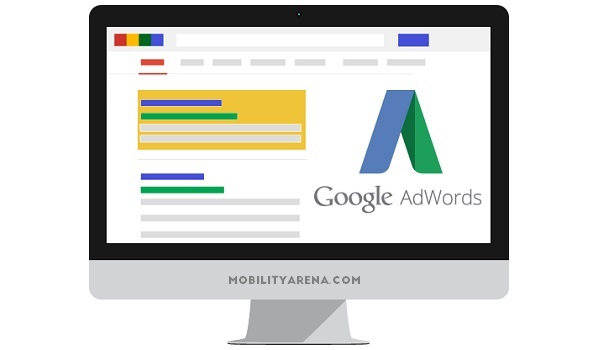 Google AdWords desktop