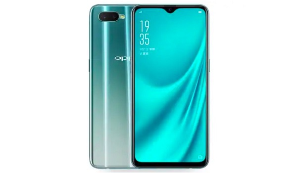 Oppo R15x (Oppo K1) front and back