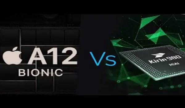 A12 Bionic versus Kirin 980