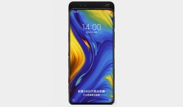 xiaomi mi mix 3 camera and sliding design