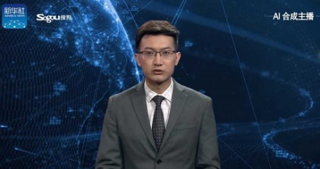 The World's First AI News Anchor Is Here 13