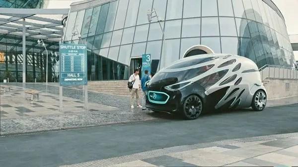 Urbanetic Vision concept car