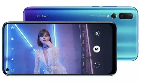 Huawei Nova 4 side