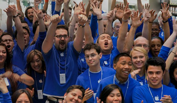 reduction in Apple hires as a result of iPhone sales drop