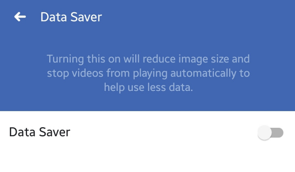 disable autoplay video on facebook