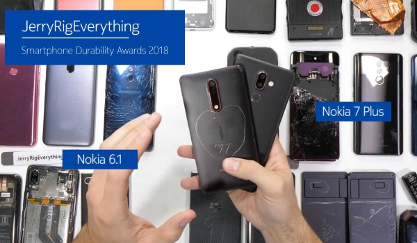 ZacksJerryRig phone durability test - the most durable phones 2018