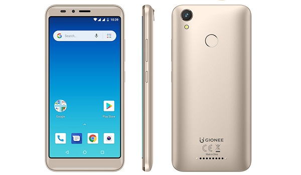 Gionee M6 Mini 2019 Gold