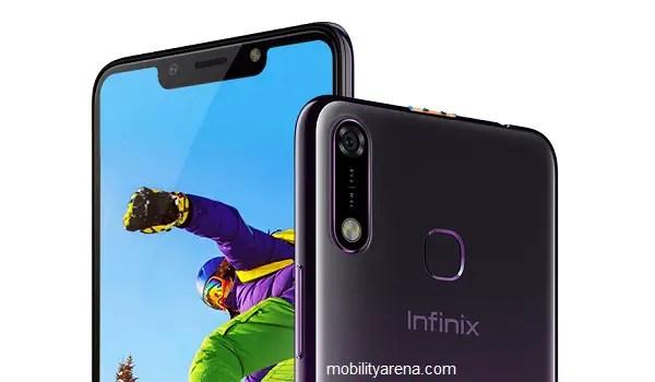 infinx Hot 7 smartphone back