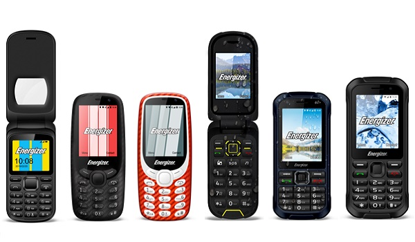 KaiOS-powered Energizer feature phones