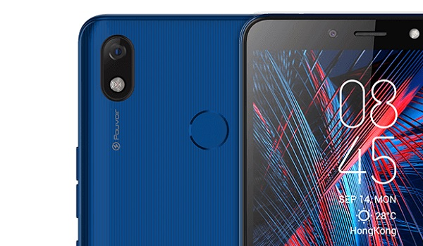 TECNO Pouvoir 2 Air blue top