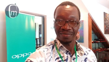 mister mobility at the oppo media hangout in Lagos