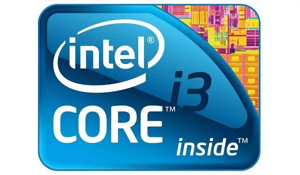 Core i3 processor in Laptops
