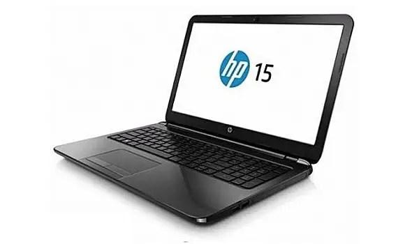 HP Notebook 15-bs021ne laptop Intel Core I3-6006U screen