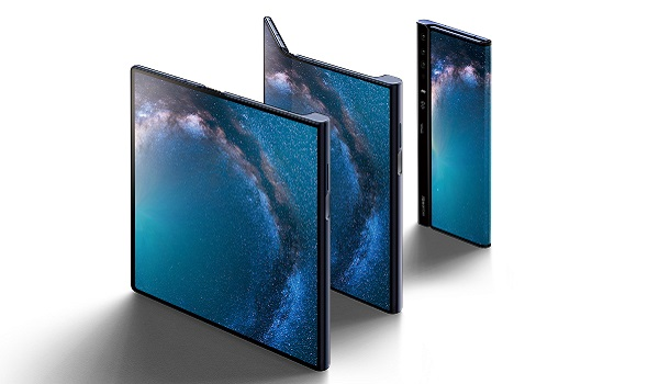 Huawei Mate X foldable phone has an even more unique folding display