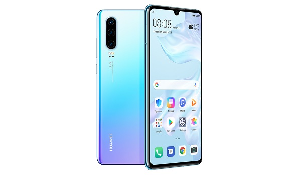 Huawei P30 (premium Android smartphone) 4