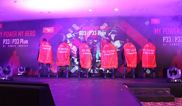 itel P33 and P33 Plus capes on stage