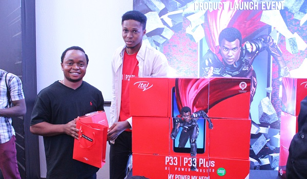 itel P33 and P33 Plus goodie bags