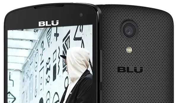 BLU Studio X8 HD 2018 black camera