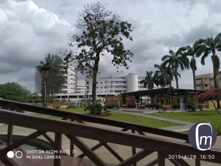 Lagos State govt Complex Alausa shot with Redmi Note 7 mobilityarena