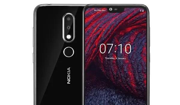 Nokia 6.1 Plus - Nokia X6 top