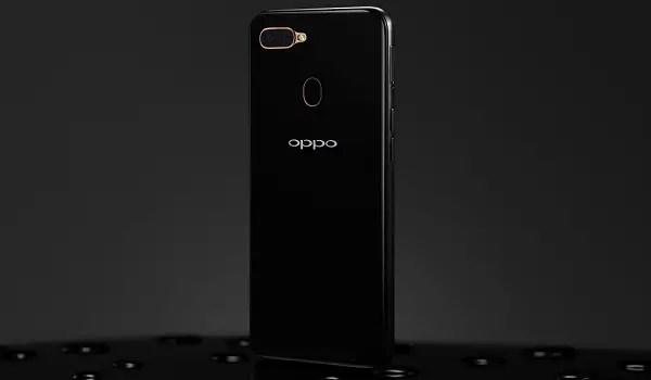 OPPO A1k black