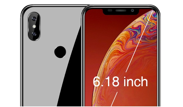 OUKITEL C13 Pro front and back cameras