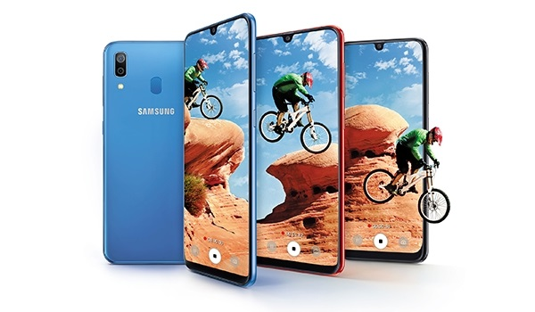Samsung Galaxy A30 2019 splash